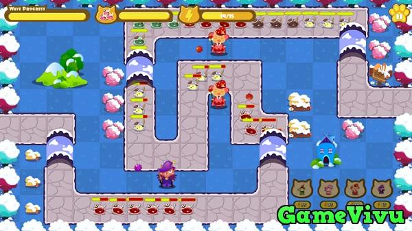 game Vương quốc mèo phòng thủ 3 hình ảnh 3