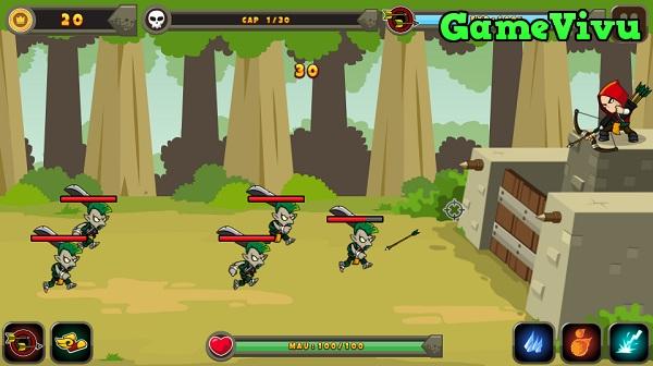 game Bảo vệ thành Troy hình ảnh 1