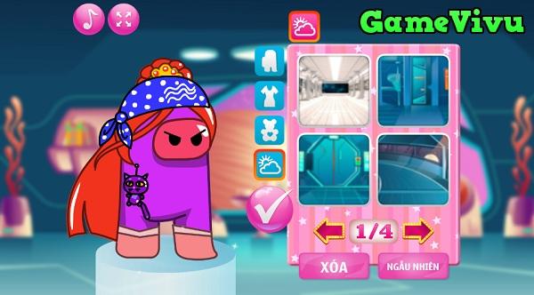 game Công chúa Among Us hình ảnh 3