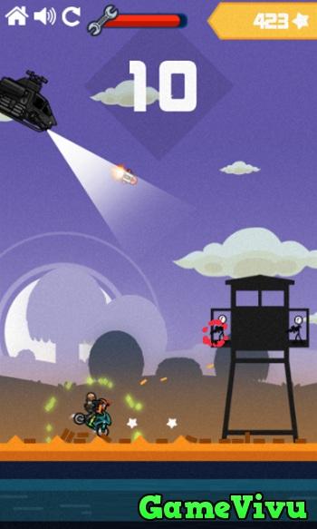 game Đua moto bắn súng hình ảnh 3