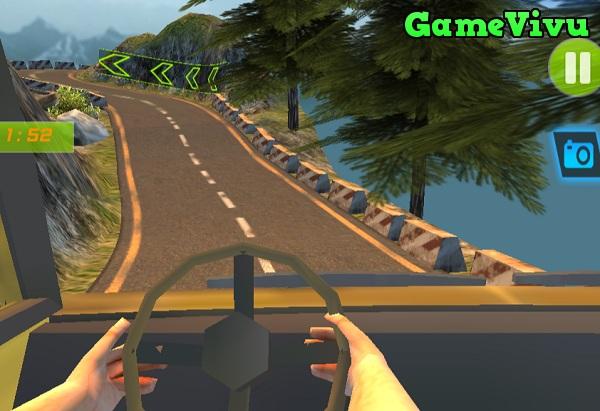 game Lái xe tải chở hàng 18 bánh đường dài