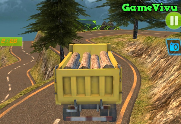 game Lái xe tải chở hàng 3d y8 24h