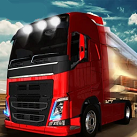 Lái xe tải chở hàng