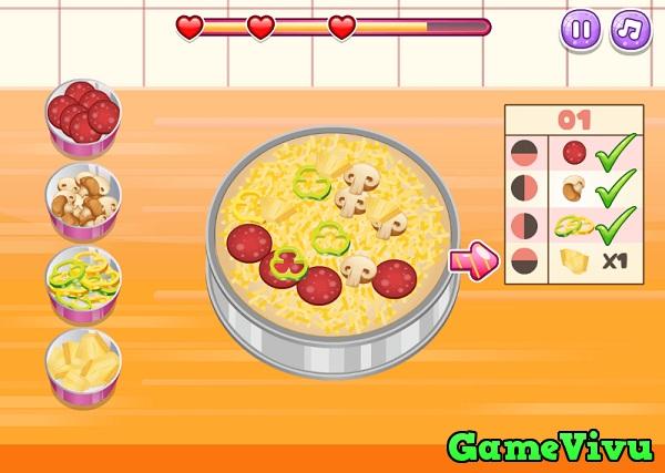 game Làm bánh pizza nhiều lớp hình ảnh 3