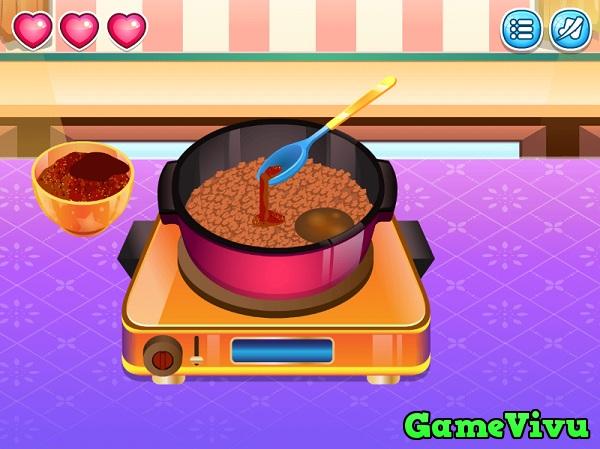 game Làm bánh taco Mexico hình ảnh 2