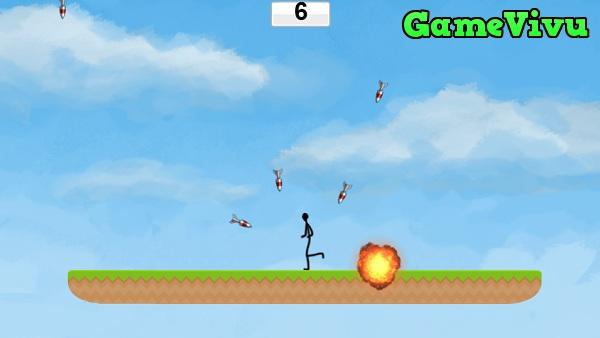 game Người que tránh tên lửa hình ảnh 2