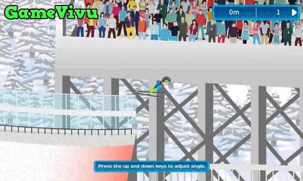 game Trượt tuyết nhảy xa hình ảnh 2