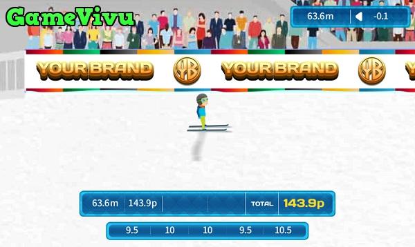game Trượt tuyết nhảy xa hình ảnh 3