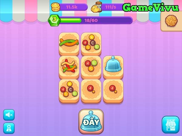 game Xưởng bánh gato kẹo ngọt