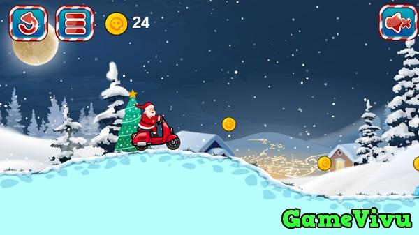 game Ong gia Noel dua xe 2 hinh anh 1