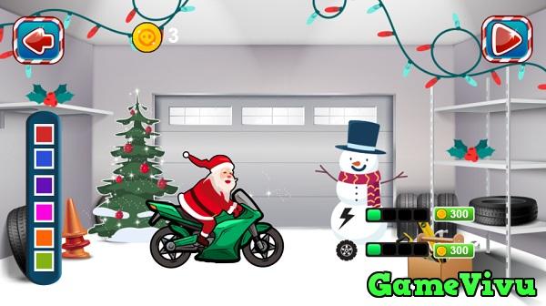 game Ong gia Noel dua xe 2 hinh anh 2