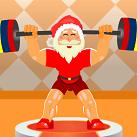 Ông già Noel tập tạ