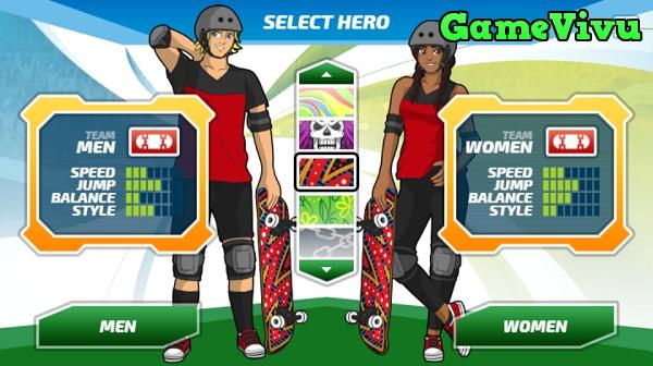 game Siêu sao trượt ván hình ảnh 1