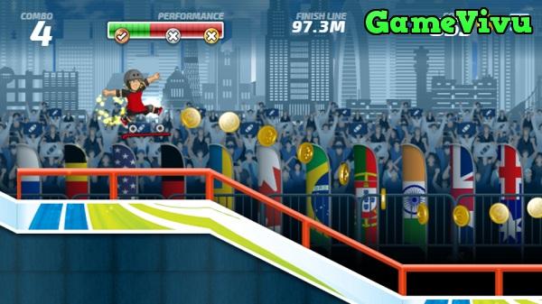 game Siêu sao trượt ván hình ảnh 2