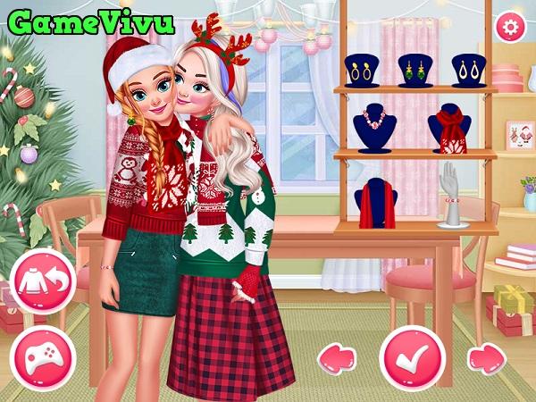 game Thiết kế thời trang giáng sinh hình ảnh 2