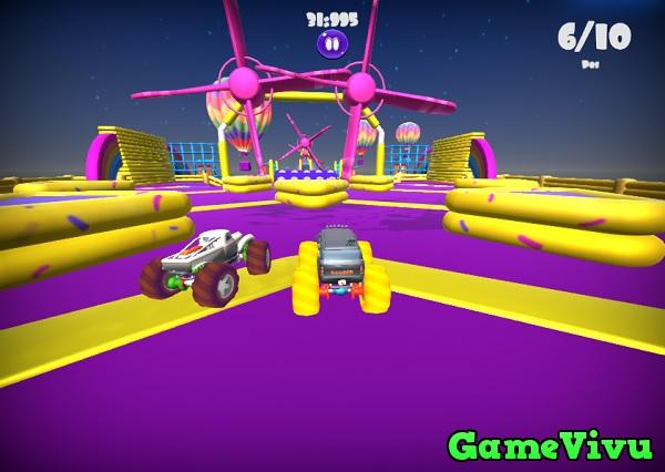 game Đua xe vượt chướng ngại vật hình ảnh 3