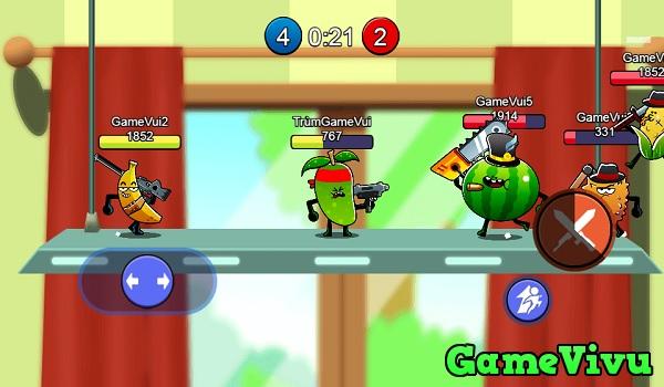 game Hoa quả bắn nhau hình ảnh 1