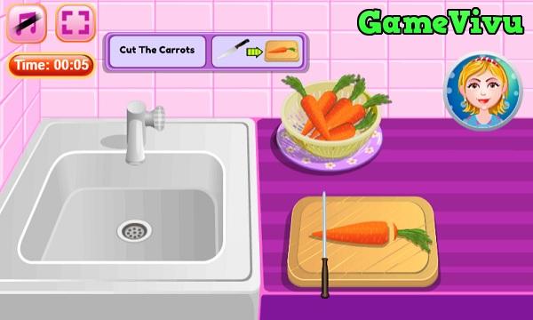 game Làm bánh cà rốt hình ảnh 1