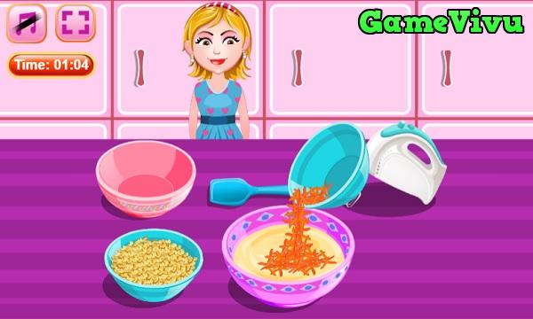 game Làm bánh cà rốt hình ảnh 2