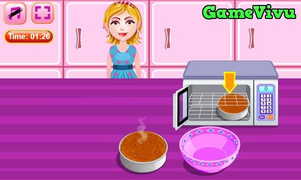 game Làm bánh cà rốt hình ảnh 3