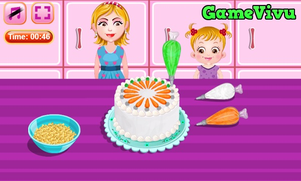 game Làm bánh cà rốt hình ảnh 4