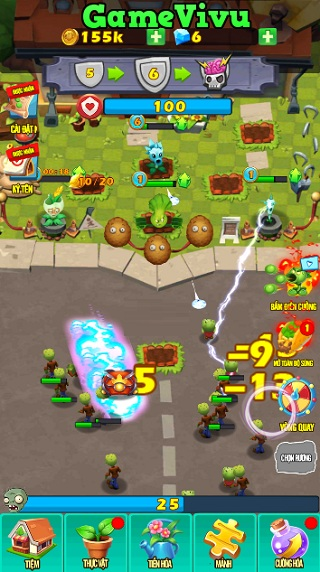 game Plants vs Zombies 3D hình ảnh 1