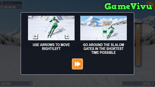 game Trượt tuyết đổ dốc hình ảnh 1