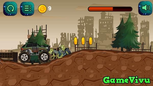 game Xe tải diệt zombie hình ảnh 1