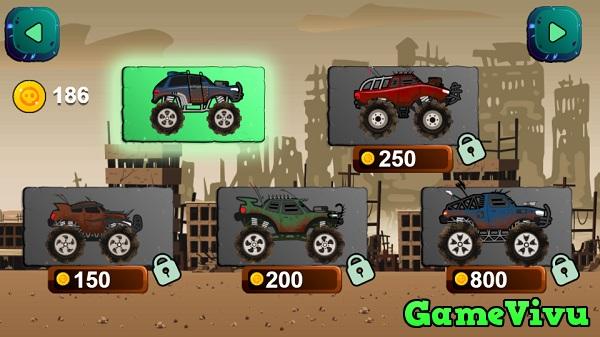 game Xe tải diệt zombie hình ảnh 2