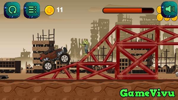 game Xe tải diệt zombie hình ảnh 3