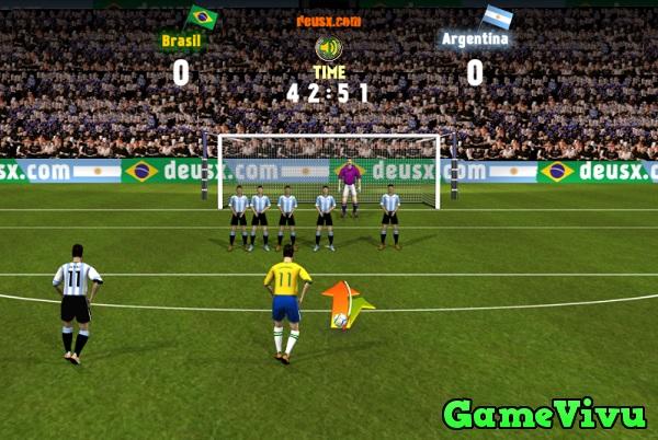 game Brazil vs Argentina hình ảnh 1