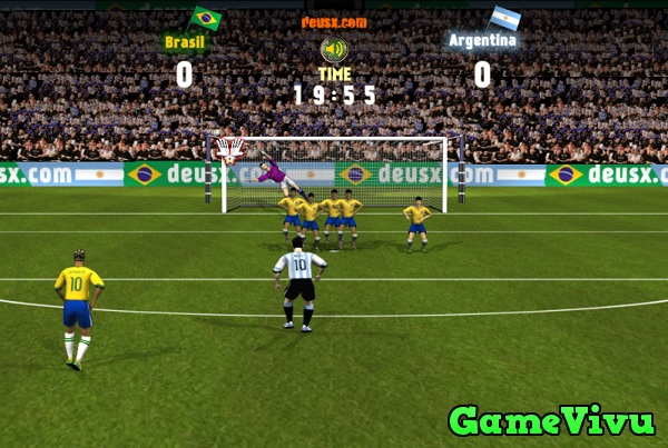 game Brazil vs Argentina hình ảnh 2