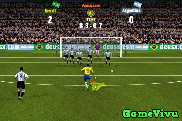 game Brazil vs Argentina hình ảnh 3