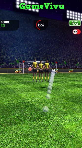 game Ronaldo sút phạt hình ảnh 2