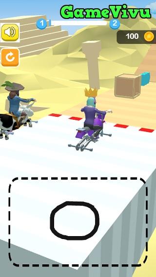 game Vẽ bánh xe hình ảnh 1