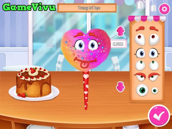 game Cửa hàng kẹo ngọt hình ảnh 4