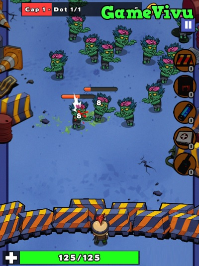 game Đối đầu zombie hình ảnh 1