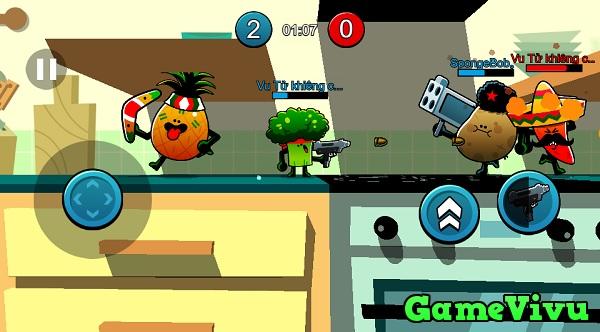 game Hoa quả chiến đấu hình ảnh 1