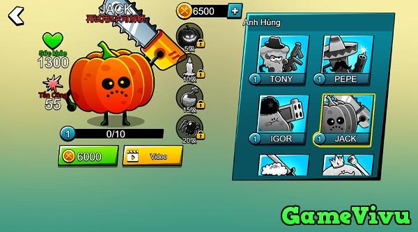 game Hoa quả chiến đấu hình ảnh 2