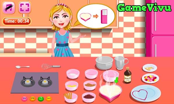 game Làm bánh Blancmange hình ảnh 2