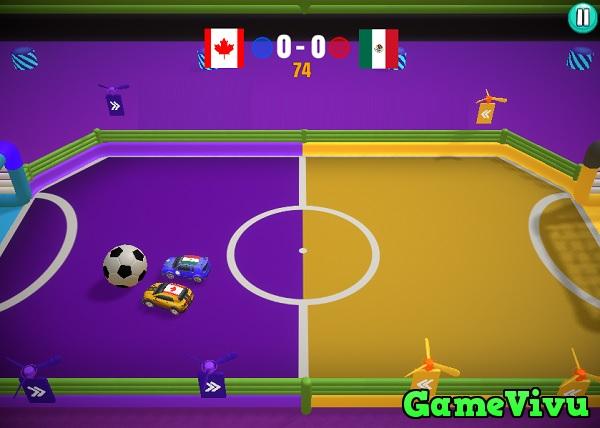 game Ô tô đá bóng hình ảnh 3