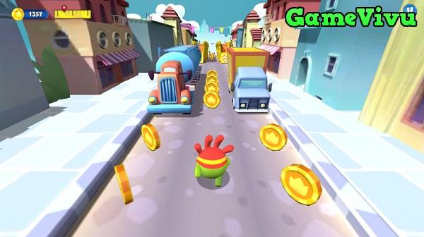 game Om Nom Run hình ảnh 1