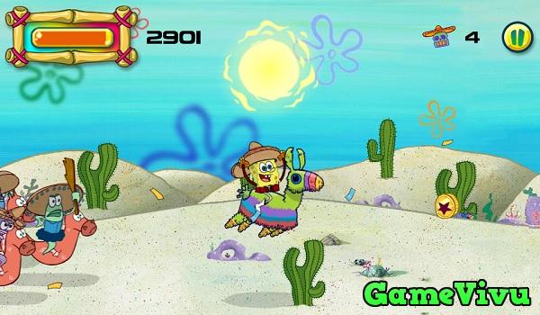 game Spongebob cưỡi pinata hình ảnh 1