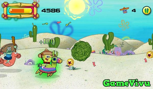 game Spongebob cưỡi pinata hình ảnh 2