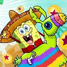 Spongebob cưỡi pinata