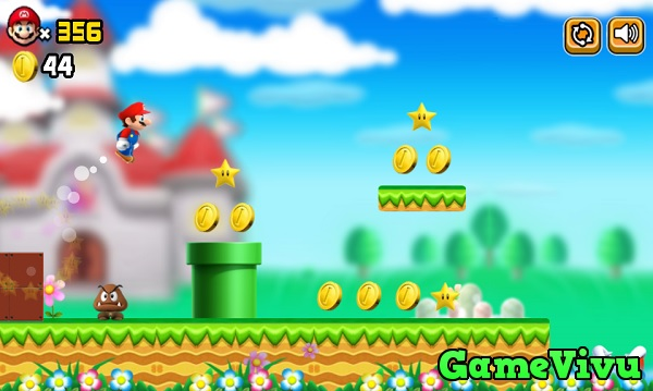 game Super Mario Bros hình ảnh 2