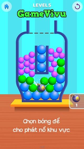 game Thả bóng vào bình hình ảnh 2