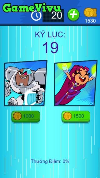 game Biệt đội thiếu niên Titan sút bóng hình ảnh 2