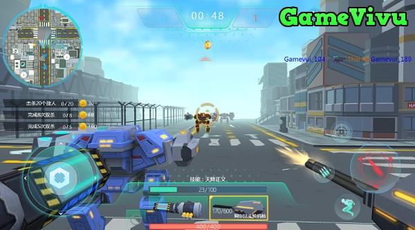 game Cuộc chiến robot 3 hình ảnh 1