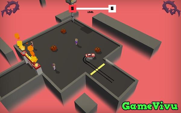 game Drift xe đâm zombie hình ảnh 3